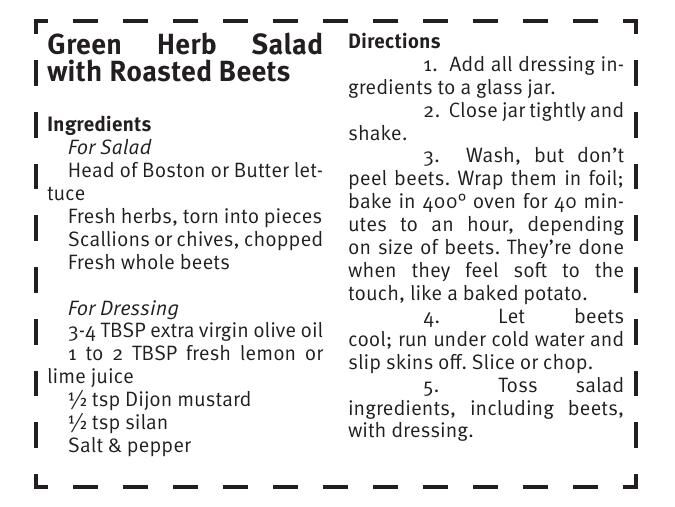 Green Herb Salad with Roasted Beets .pdf