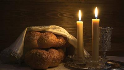 Courtesy of JNS Challah and candles