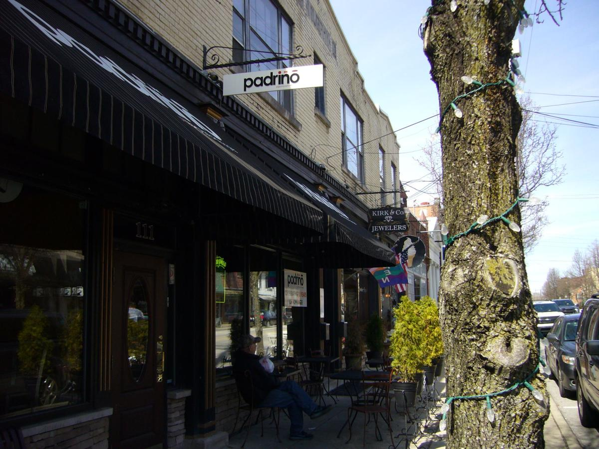 Padrino in Old Milford has renovated its patio.