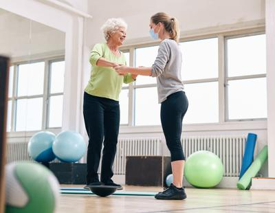 As people age, the importance of a strong, central core is amplified. A strong core promotes balance, prevents falls, prolongs lives, and can even help with incontinence.