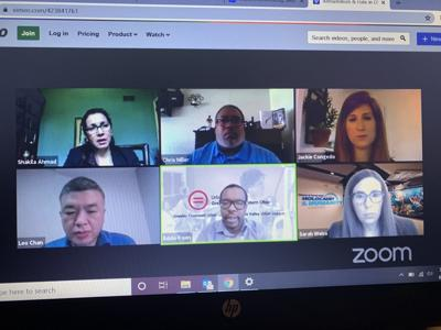 Panelists discuss hate and antisemitism during COVID-19 during a webinar hosted by the JCRC and the Nancy & David Wolf Holocaust & Humanity Center.