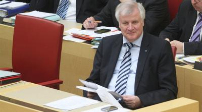 Courtesy of JTA Photo credit: Michael Lucan German Interior Minister Horst Seehofer attends a Cabinet meeting in Munich, April 11, 2013.