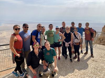 Twenty couples visit Israel to share fun, meaningful experiences with each other and to build friendships and community.