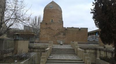 Courtesy of JTA; Photo credit: Ali Hoseyni/Wikimedia Commons The Tomb of Esther and Mordechai, said to be the burial place of the biblical figures, in Hamedan in western Iran.