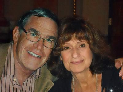 """""""Cincinnati Jewish Interest Free Loans truly rescued me at a most difficult time.""""—Robert Bass, Loan Recipient, pictured with his late wife, Sophie"""