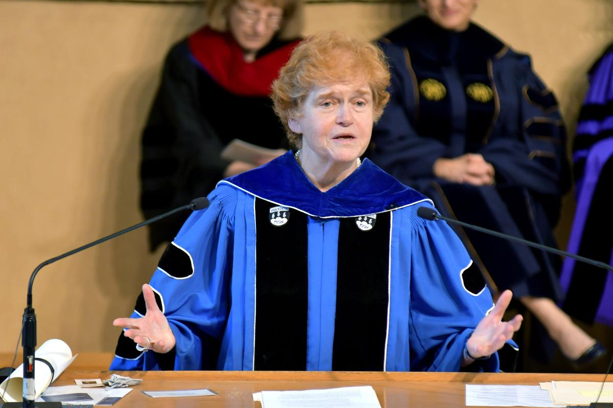 Courtesy of Janine M. Spang Photography Hebrew Union College-Jewish Institute of Religion graduation speaker Deborah Lipstadt said the graduates they should fight all kinds of hate and prejudice.