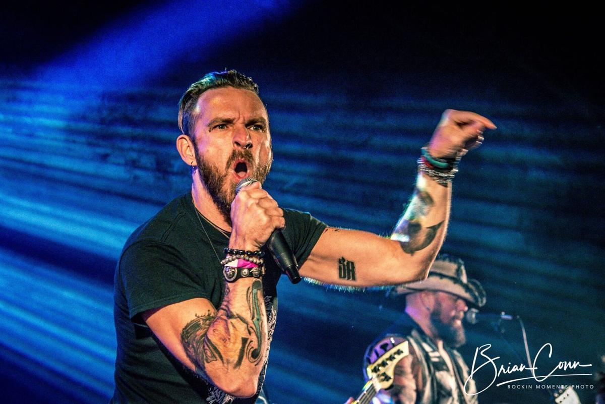 Saving Abel lead vocalist Scott Austin.