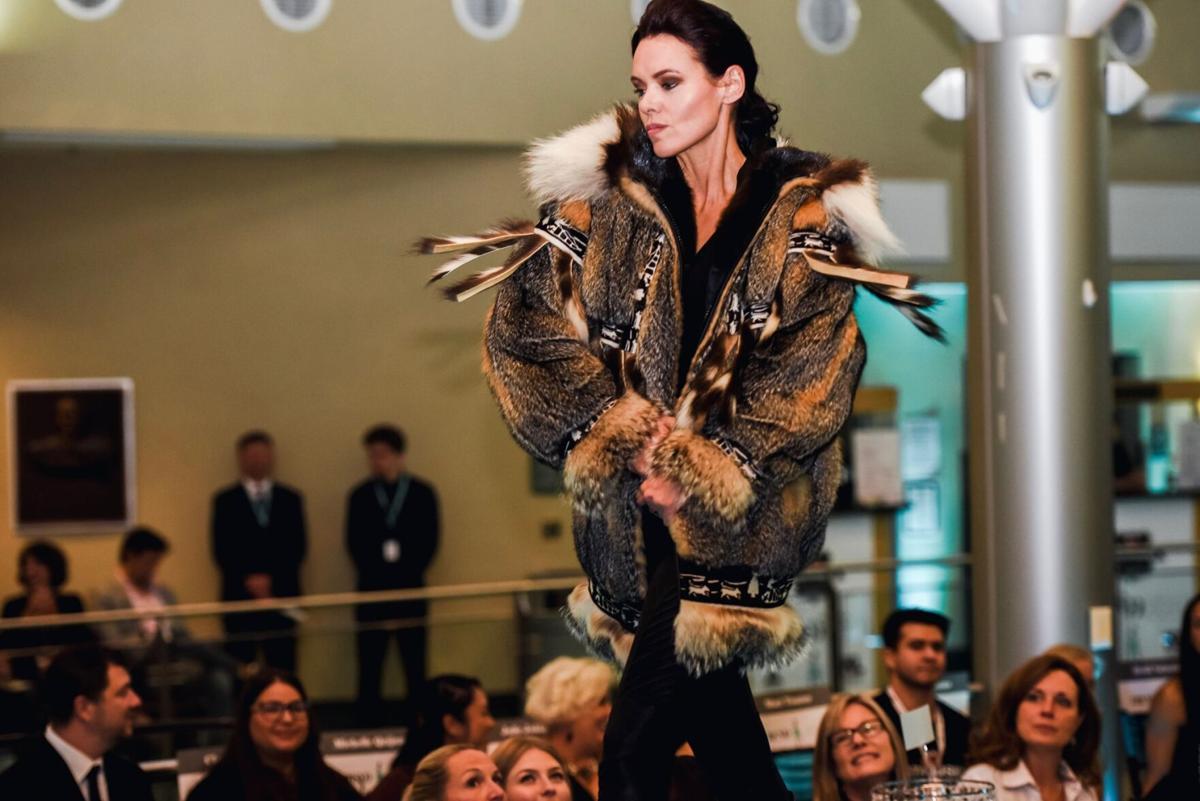 Robin 2019 Trend Fashion Show wearing a squirl skin parka by David Green Master Furrier.jpg