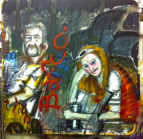 BAFCO metal art proudly on display at Anchorage Brewing