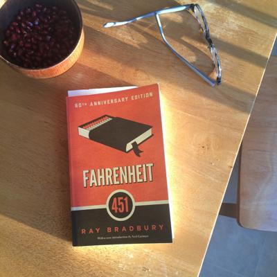Reading Fahrenheit 451 With My 13 Year Old