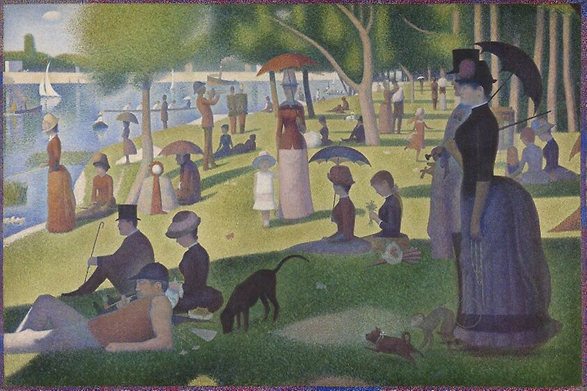 Seurat's, A Sunday on La Grande Jatte,.jpg