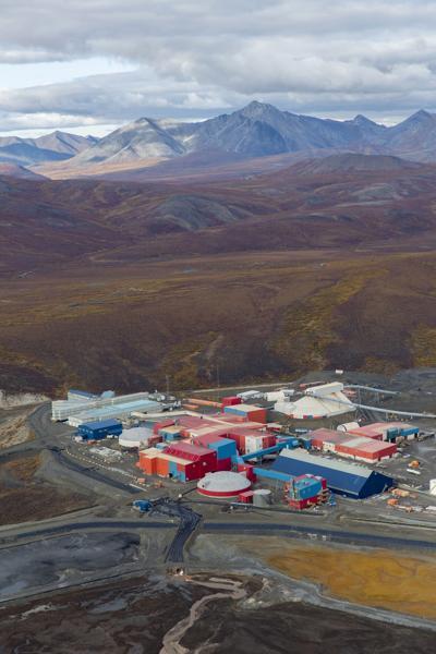 Red Dog Mine, De Long Mountains in Northwest Alaska (Photo  courtesy NANA Regional Corp.)