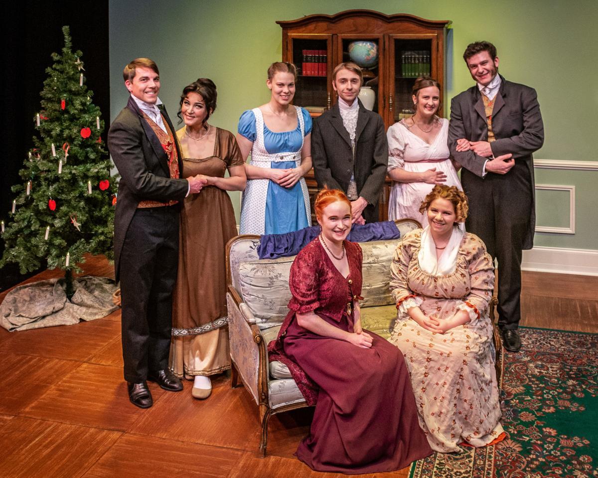 Miss Bennet Christmas At Pemberley.Miss Bennet Christmas At Pemberley Opens At Ctc Arts