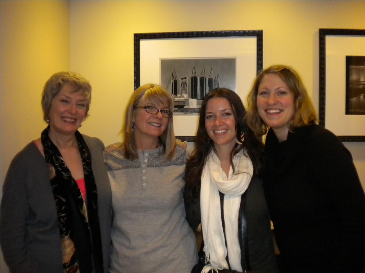 Sherry Simpson with students