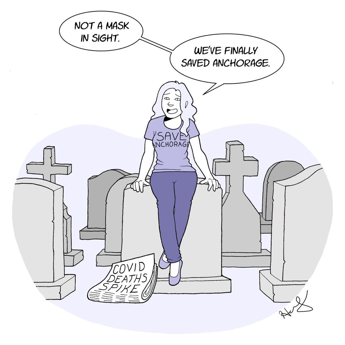 Save Anchorage Cartoon