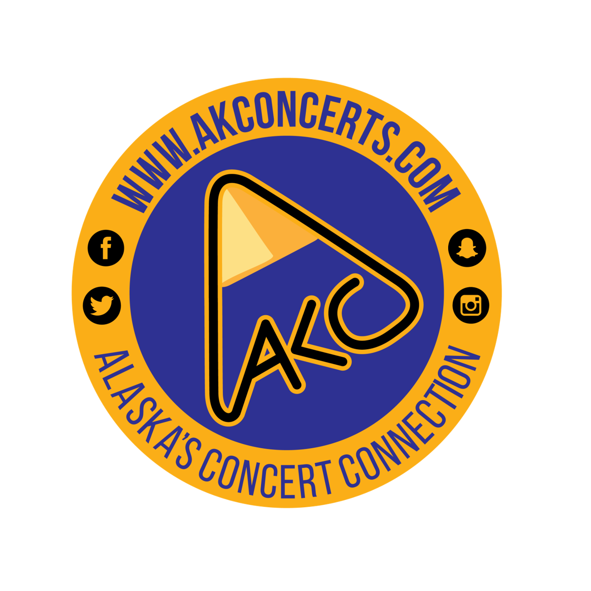 AK Concerts logo
