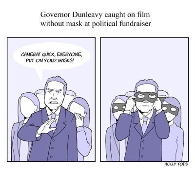 Cartoon - Dunleavy