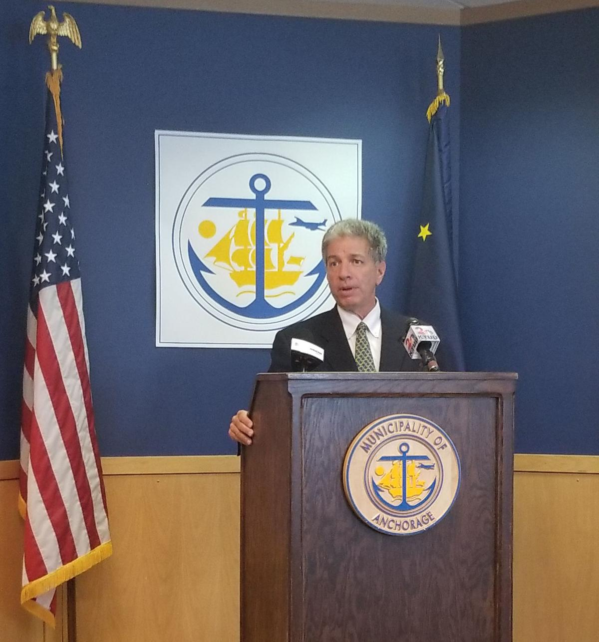 Mayor Berkowitz On The Eve Of His Emergency Declaration The Safety Net Is Now The Street News Anchoragepress Com