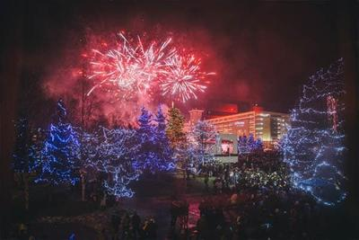 Anchorage Downtown Partnership Fireworks