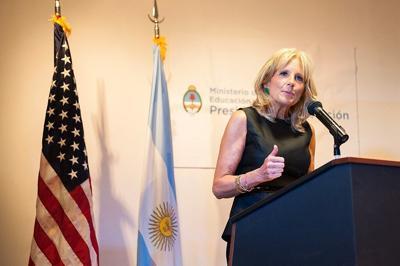 Jill Biden.