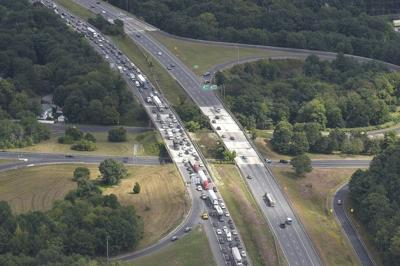 Work on interstates 495 and 93 in and around Andover to continue