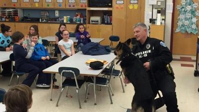 Duct work for Grim; High Plain students raise money for Vest-a-Dog program