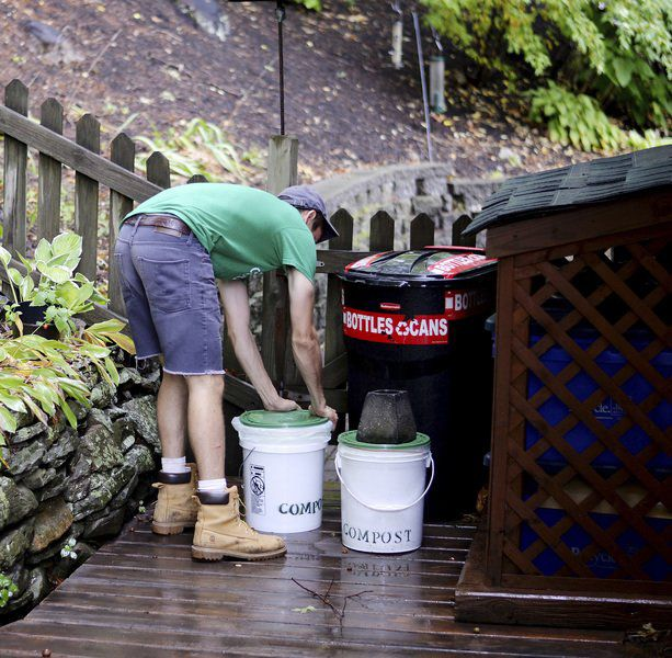 Composting Andover residents' food waste