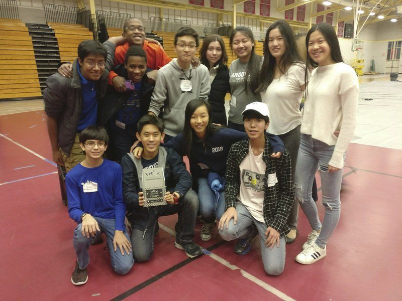 Phillips Academy students excel at robotics competition