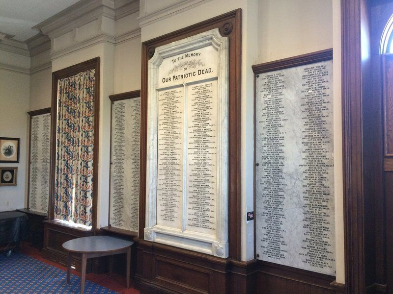 Andover Story: Memorial Hall Library -- More than a love of reading
