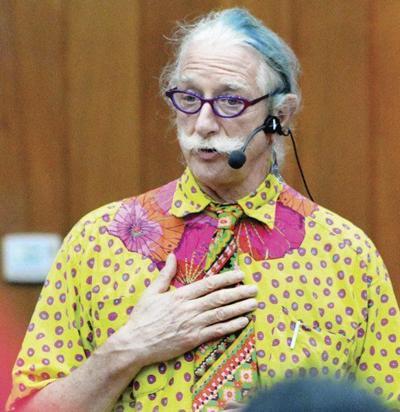 Renowned doctor 'Patch' Adams speaks about joy, mental health