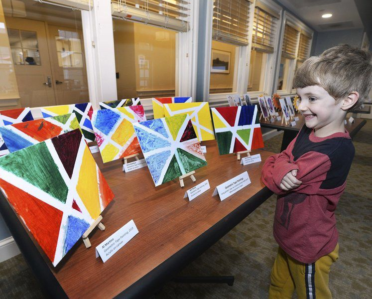 Creative and therapeutic: Artwork unveiled