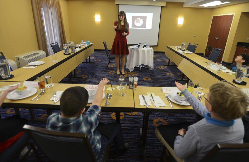 Local children gain poise and polish at etiquette boot camp