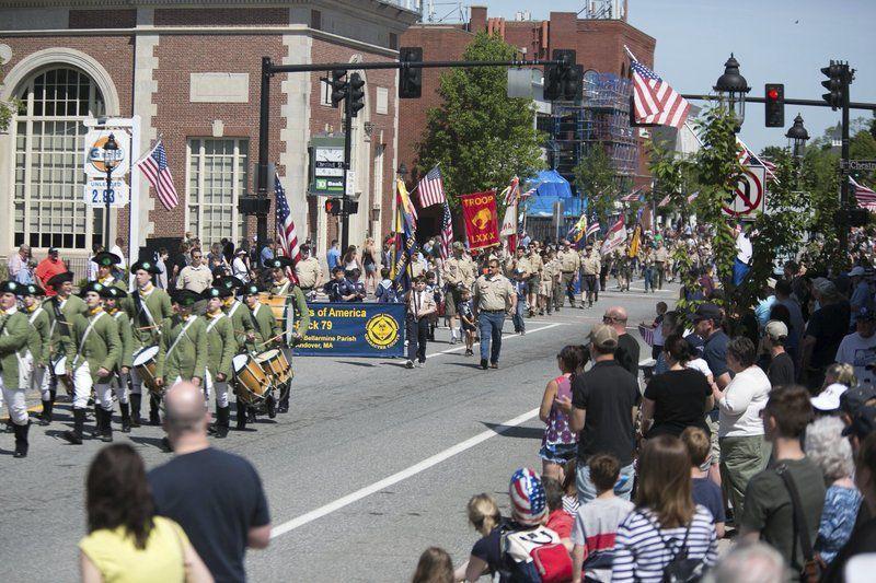 Town celebrates Memorial Day