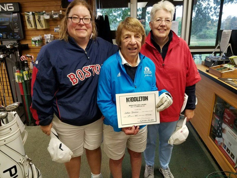 A hole in one -- at 91!