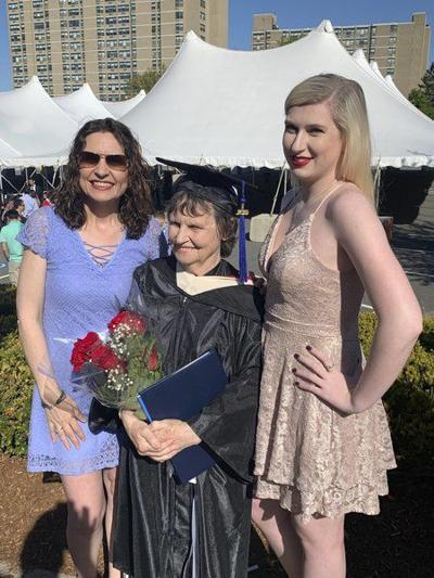 Grandmother, 76, graduates from UMass-Lowell