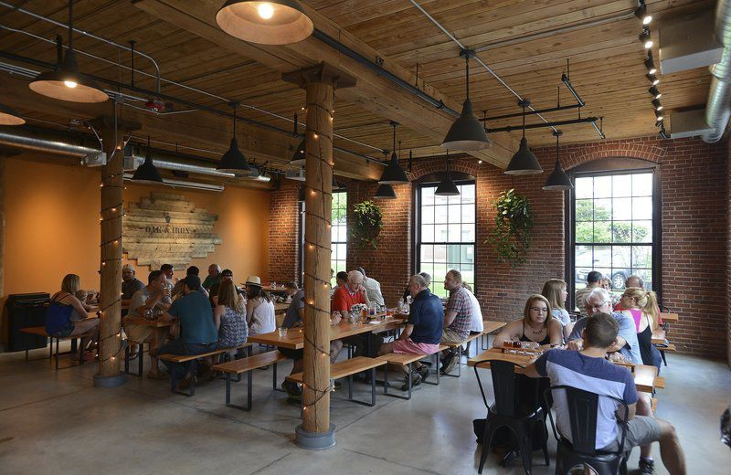 oak and iron brew pub opens on red spring road news