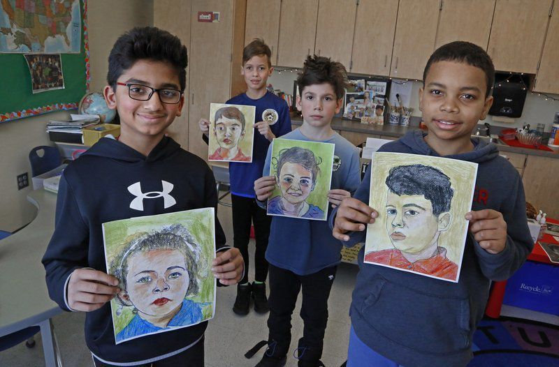 ESL students take part in unique art project