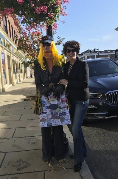 'Lucy' the mannequin promotes businesses