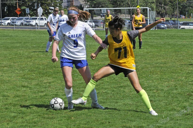 Photos from Andover girls soccer scrimmage