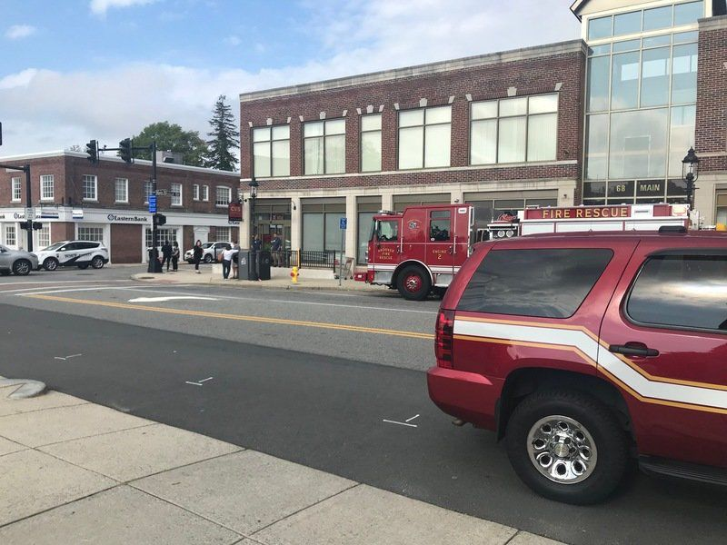 cvs evacuated following strange smell news