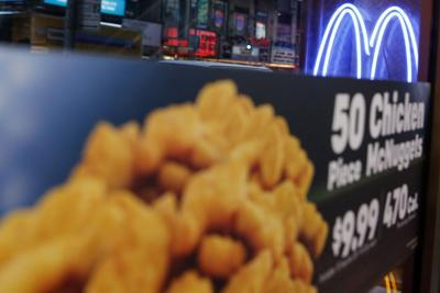 McDonald's to stop using chicken treated with antibiotics