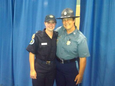 Week at student trooper program best of her young life
