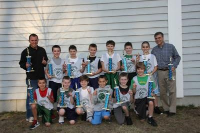 Fifth Grade St A S Basketball Team Goes Undefeated Sports