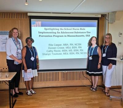 Nurses visit Sweden to talk about drug abuse