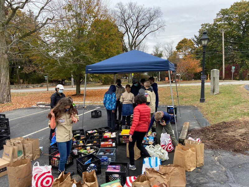 Scouts continue food drive
