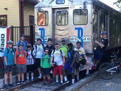 EEE cancels overnight camping, so scouts ride bikes instead