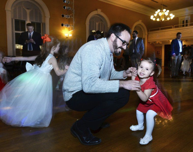 A dance for daughters and dads