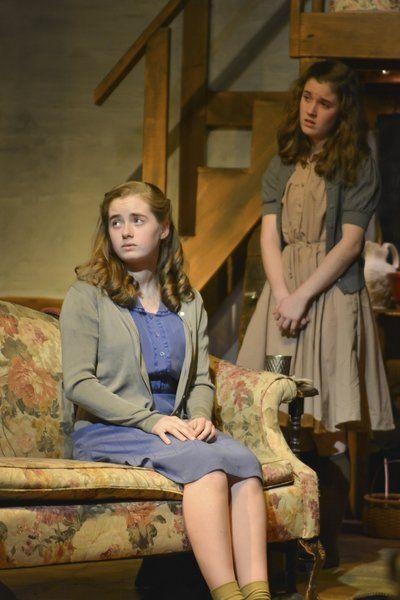 Out & About:Andover sisters in 'Diary of Anne Frank'
