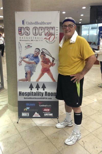 After 55 years, Andover's Erban enjoying racquetball success