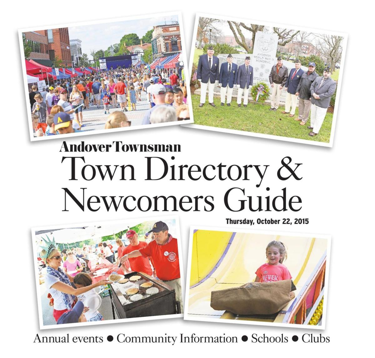 2015 Town Directory & Newcomers Guide